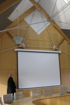 Konferenzraum bei Tageslicht